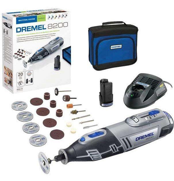 Аккумуляторный гравер DREMEL 8200-20 F0138200JM
