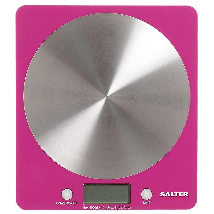 Весы кухонные SALTER 1046 pink