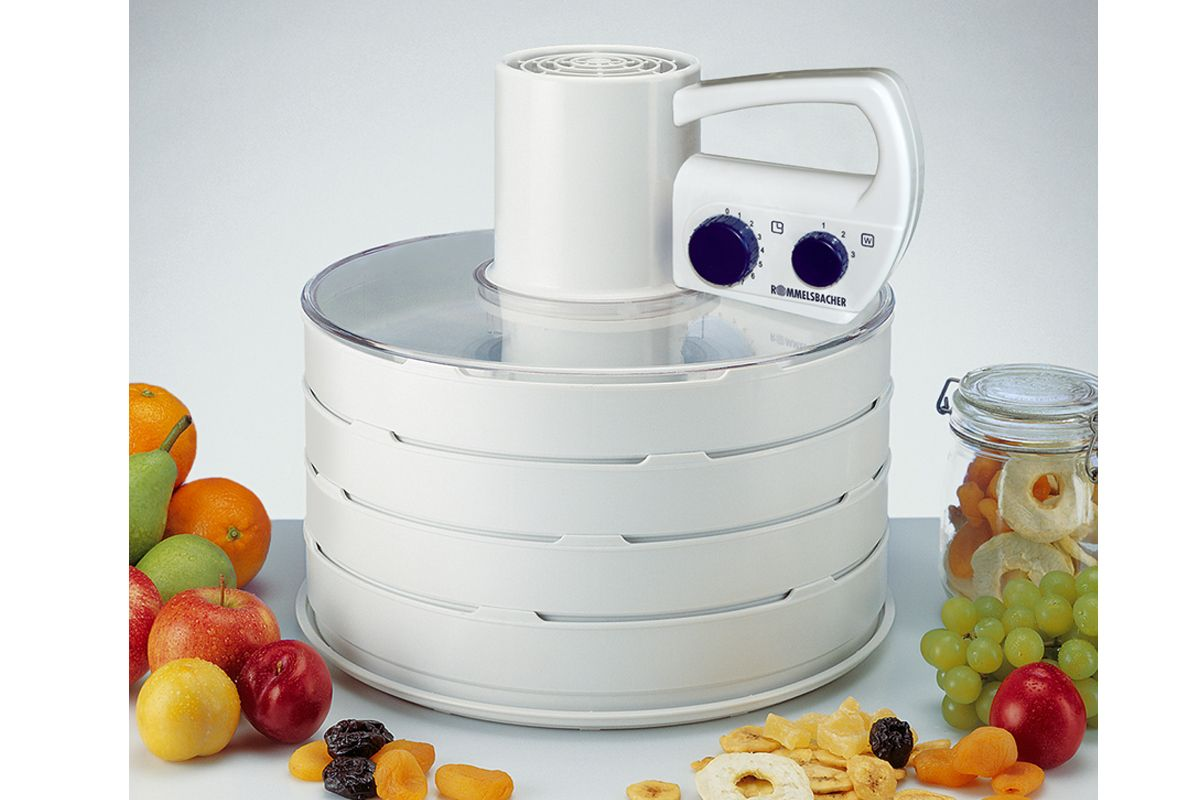 Сушилка для овощей и фруктов ROMMELSBACHER DA 750