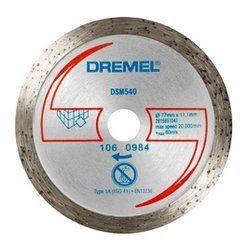 Алмазный отрезной диск по плитке DREMEL для dsm20