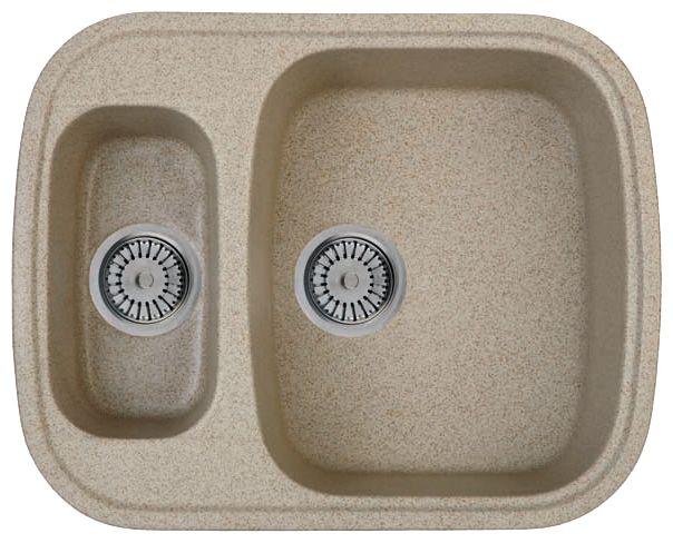 Кухонная мойка WHINSTONE Тендер 1 1/2B (арт. С02) светло-бежевый