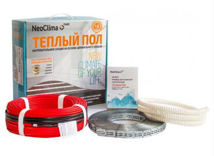 Теплый пол NEOCLIMA N-TC 1275/10.0