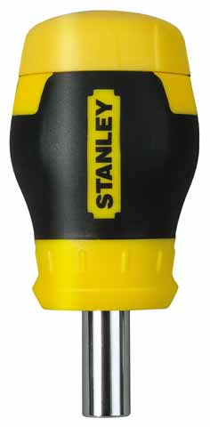 """отвертка """"multibit stubby"""" со сменными вставками STANLEY 0-66-357"""