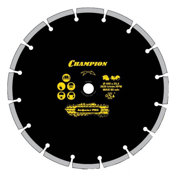 Диск алмазный Champion ST 230/22,23/12 Fast Gripper