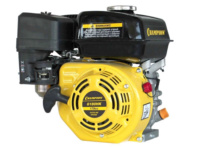 Двигатель Champion 6,0лс 179см3 диам. 19мм шпонка 15,7кг