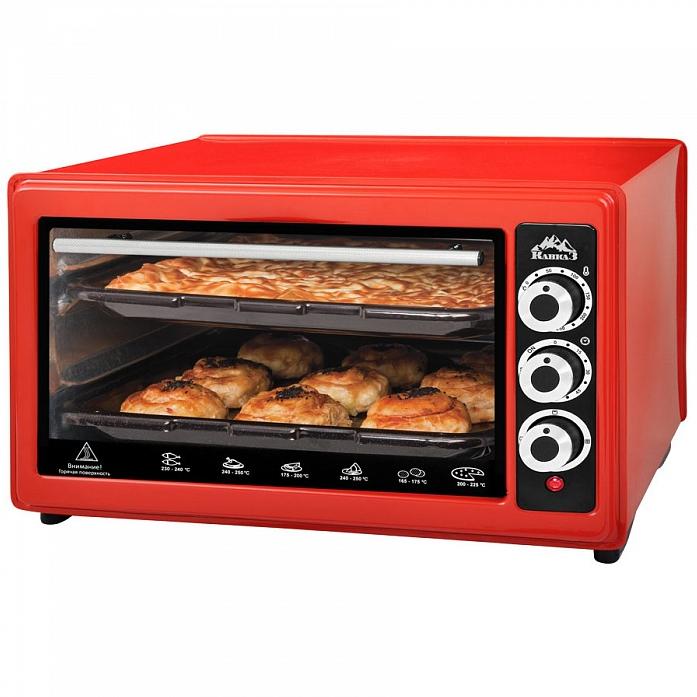 Мини-печь КАВКАЗ k3-200 красный