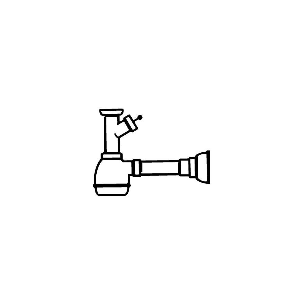Сифон для одной чаши SMEG 3712
