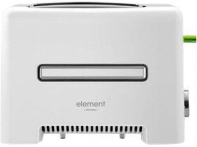 Тостер ELEMENT eltoaster fe01pw белый