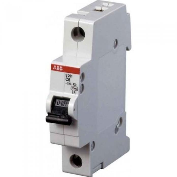 Автоматический выключатель ABB s201 1p 20а (с) 6ka