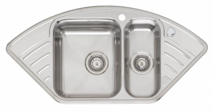 Кухонная мойка REGINOX R15 LUX KGOKG Left (c/box)
