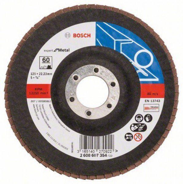 Круг тарельчатолепестковый BOSCH 125 мм k60