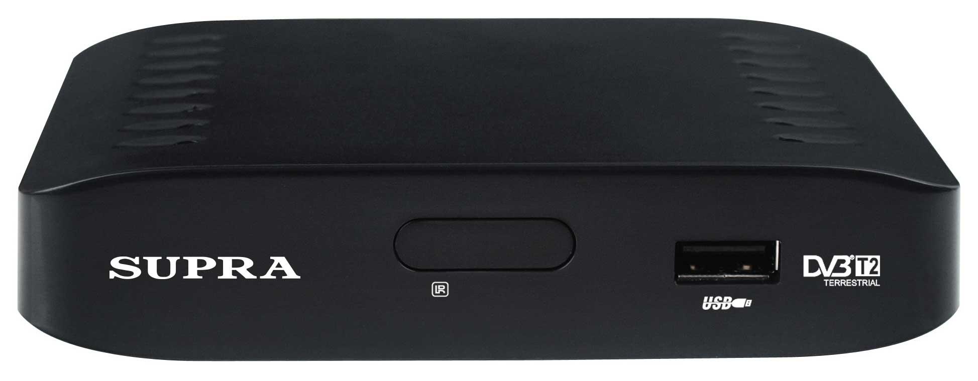 TV-тюнер SUPRA SDT-81 черный