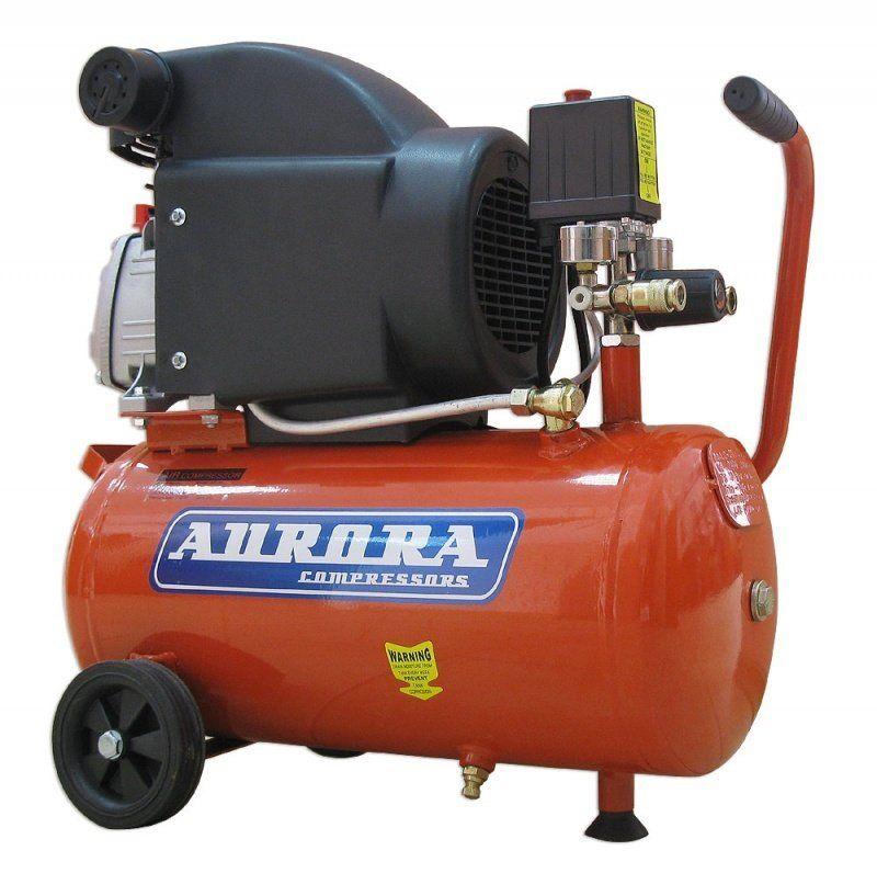 Компрессор Aurora AIR-25 (24л, 206л/мин-на входе, 1,5кВт, 220В)