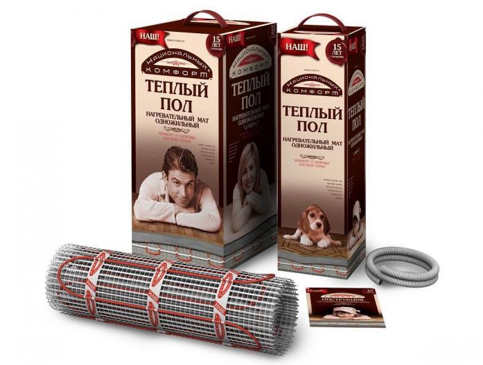 Теплый пол НАЦИОНАЛЬНЫЙ КОМФОРТ тНК-760-5,00