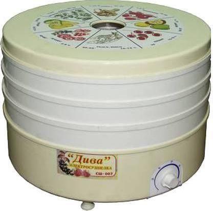 Сушилка для овощей и фруктов ДИВА сш-006