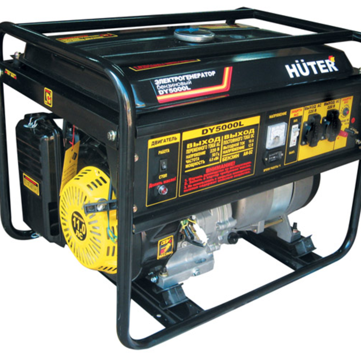 Huter DY5000L электрогенератор huter ht950a