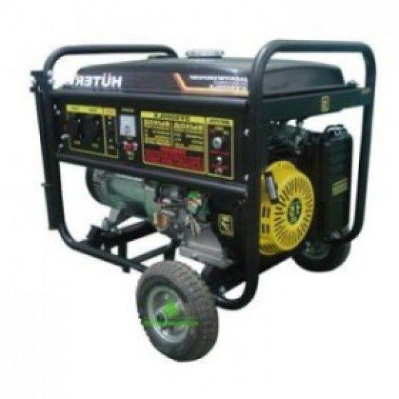 Электрогенератор с колёсами и аккумулятором HUTER DY6500LX (64/1/15.)