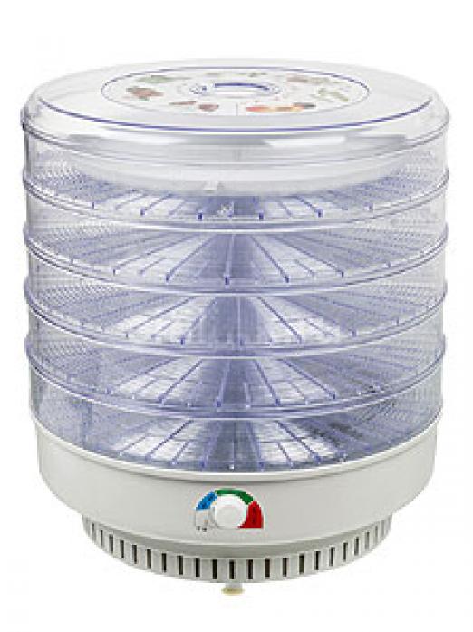 Сушилка для овощей JARKOFF JK-5Т 5 прозрачных лотков