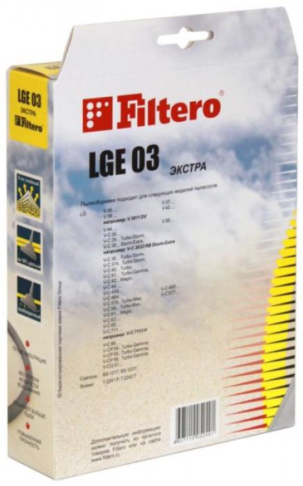 Для пылесоса FILTERO lge 03 (4) экстра