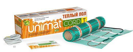 Нагревательный мат CALEO unimat cord t 130-0,5-3,0