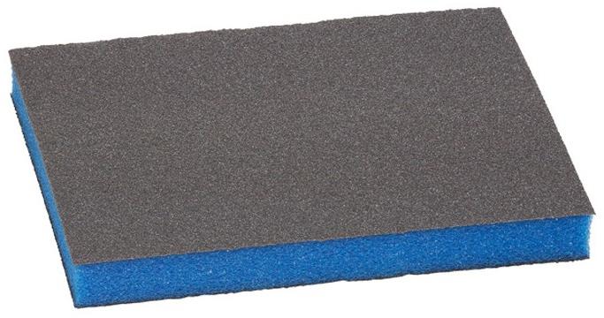 Губка шлифовальная BOSCH 98x120x13мм medium b.f. contour