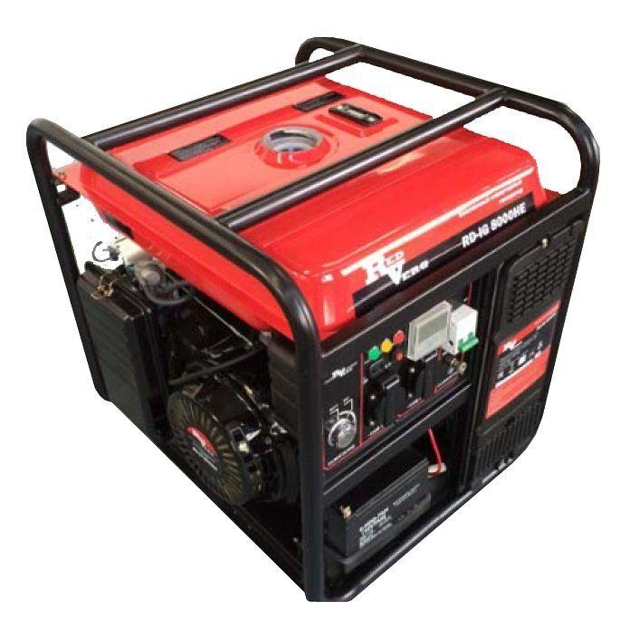 Бензиновый генератор REDVERG RD-IG8000HE