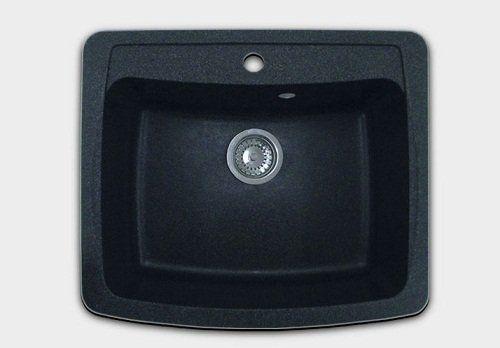 Кухонная мойка GRANFEST gf-s605 черный