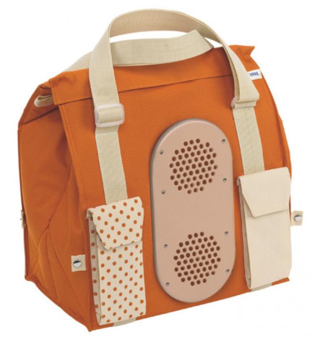 Сумка-холодильник MOBICOOL S28 DC оранжевая (9105302309)