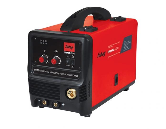 Сварочный полуавтомат FUBAG irmig 200 с горелкой fb 250 f004.0376 68 035.1