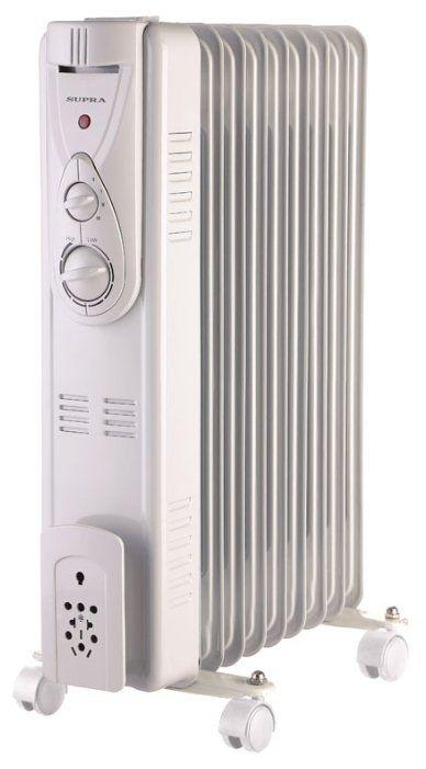 Масляный радиатор Supra ORS-09-P2 white