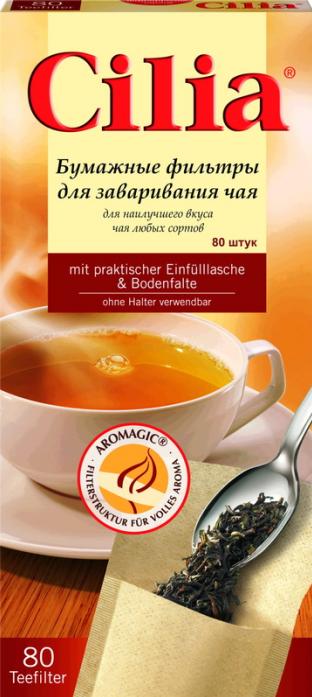 Фильтры для чая MELITTA 80шт (120710)