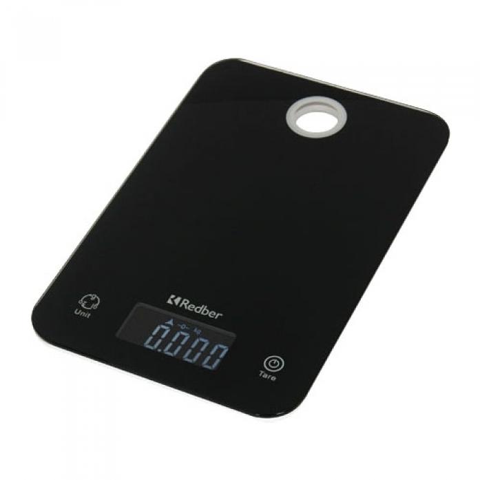 Кухонные весы REDBER KS-839 черный
