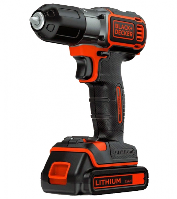 Дрель BLACK&DECKER ASD14KB