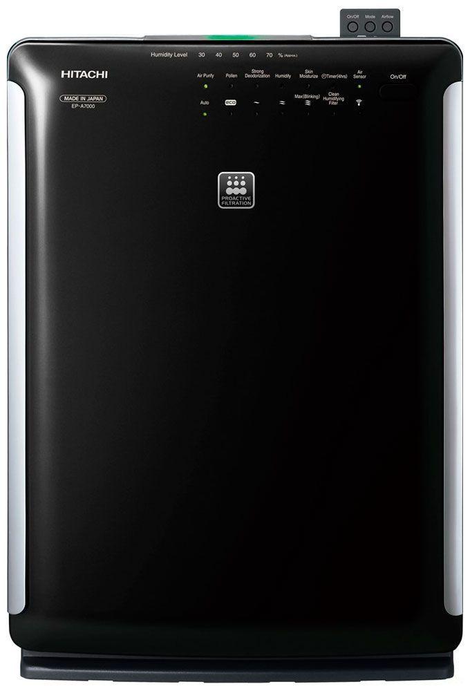 Воздухоочиститель HITACHI ep-a7000 bk черный премиум