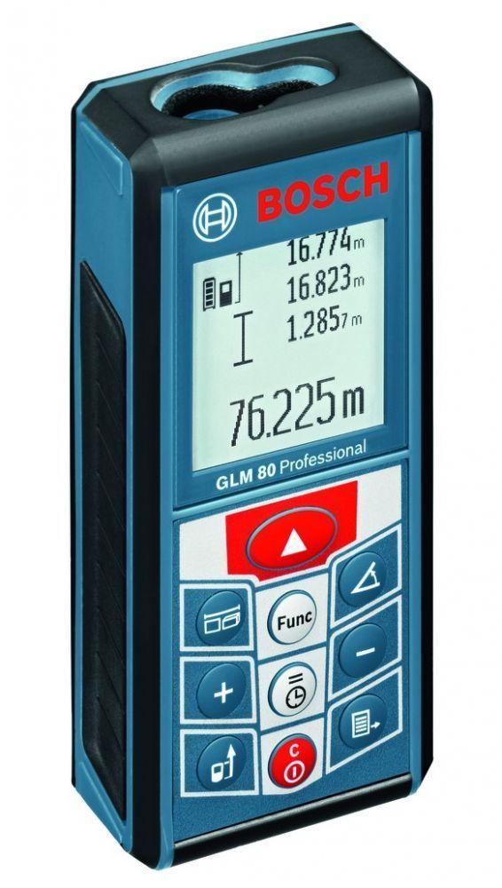 Лазерный дальномер BOSCH glm 80 prof (0601072300)