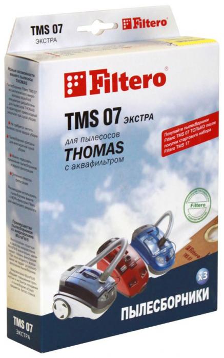 Для пылесоса FILTERO tms 07 (3) экстра