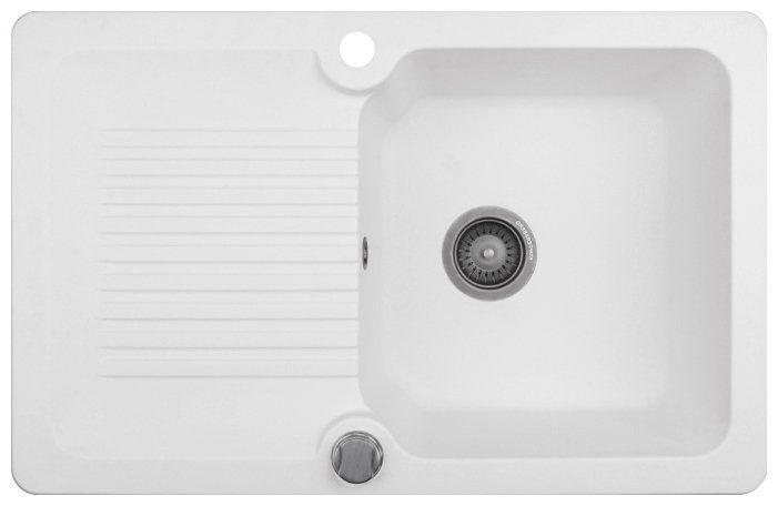 Кухонная мойка KUPPERSBERG alba 1b1d white