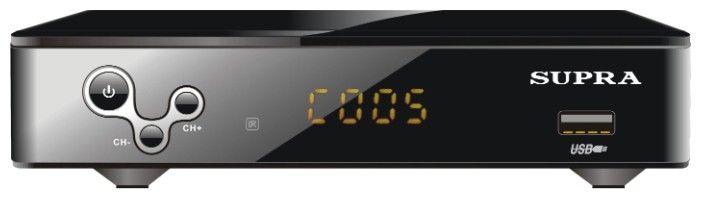 DVB-T2 ресивер SUPRA SDT-99 черный