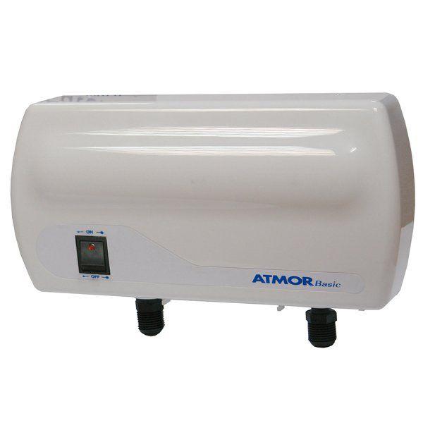 Проточный водонагреватель Atmor Basic 3,5 кВт душ