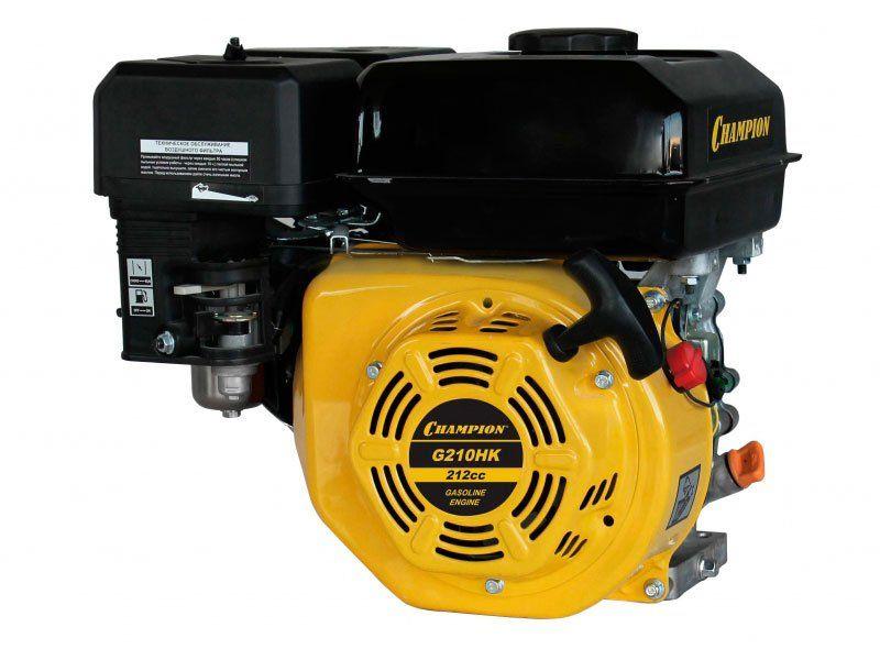 Двигатель CHAMPION 7лс 212см3 диам. 19мм шпонка 15,3кг