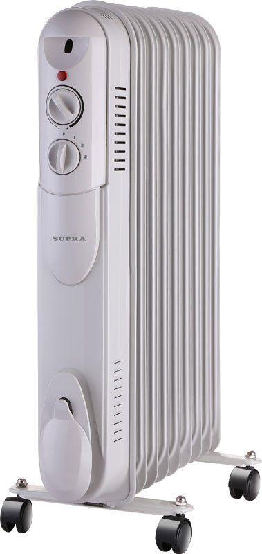 Масляный радиатор Supra ORS-09-S1 white