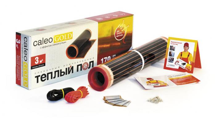 Инфракрасный теплый пол Caleo GOLD 170-0,5-3,0