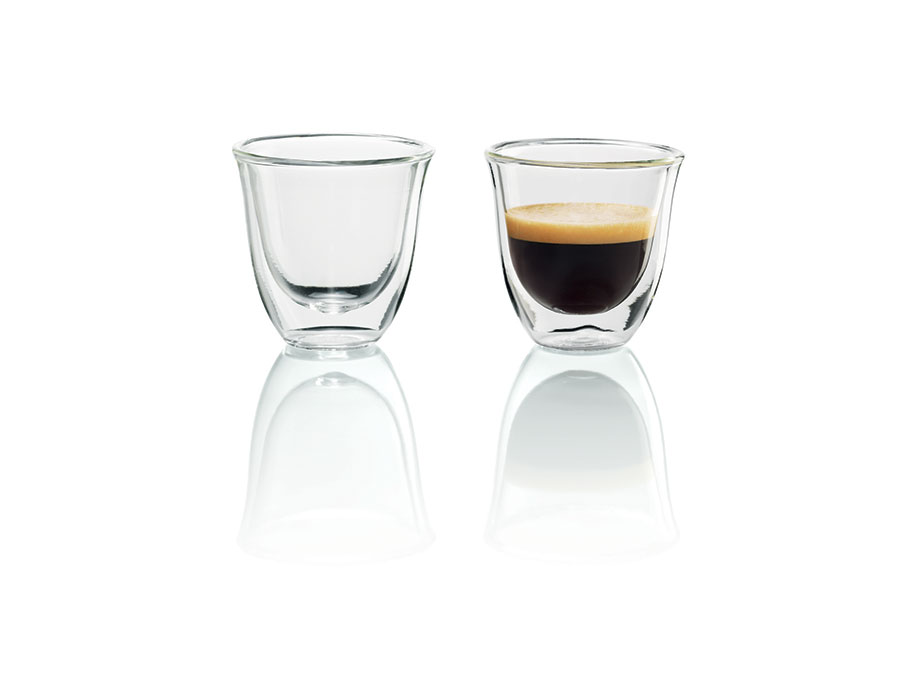Чашки для эспрессо DELONGHI espresso cups