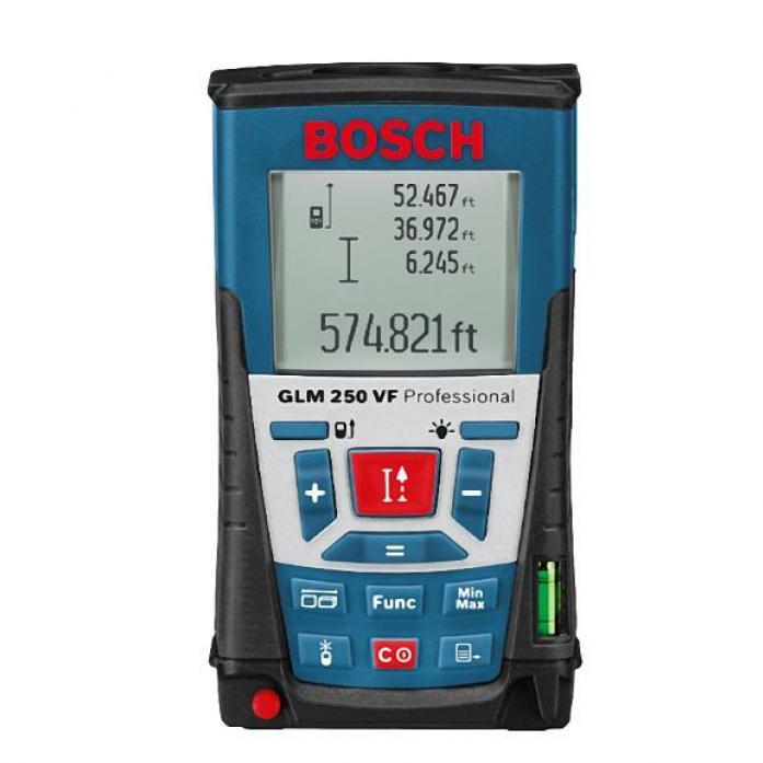 Лазерный измеритель длины BOSCH glm 250 vf