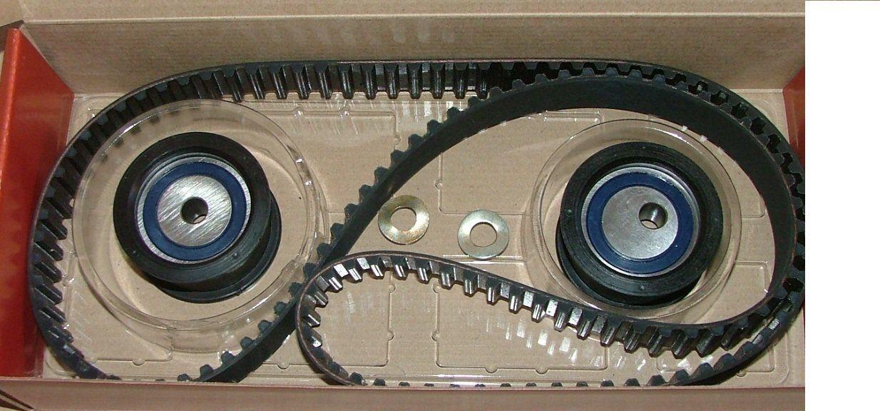 Ремень ГРМ ВАЗ 2110 16 клапанный комплект 2 ролика VK TECHNOLOGY VT26002