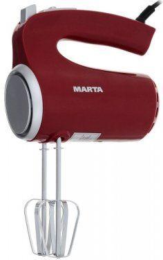 Миксер MARTA MT-1508 красный гранат