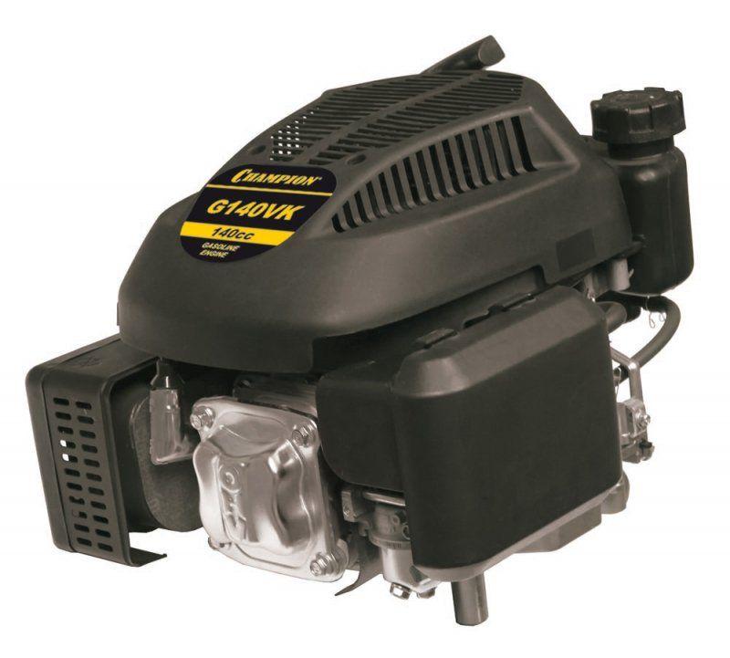 Двигатель Champion 4лс 140см3 диам. 22,2мм шпонка вертикальный вал 8,5 кг