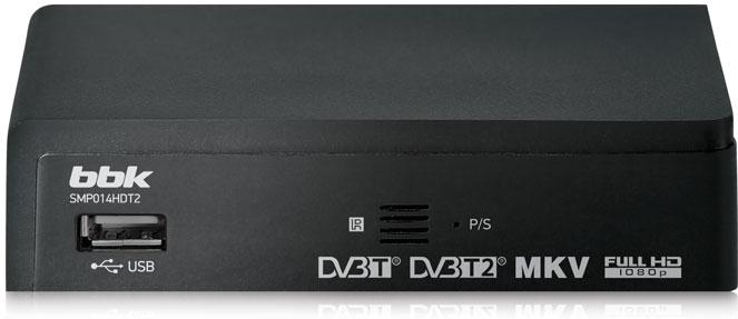 TV-тюнер BBK SMP014HDT2 темно-серый