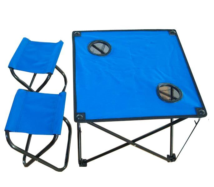 Стол складной IRIT irg-521 с двумя табуретами