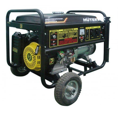 Генератор бензиновый Huter DY8000L